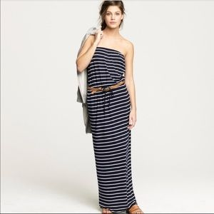 J. Crew Aimee Maxi Strapless Dress